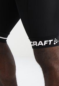 Craft - RISE SHORTS - kurze Sporthose - black/white - 4
