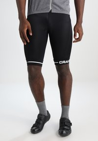 Craft - RISE SHORTS - kurze Sporthose - black/white - 0