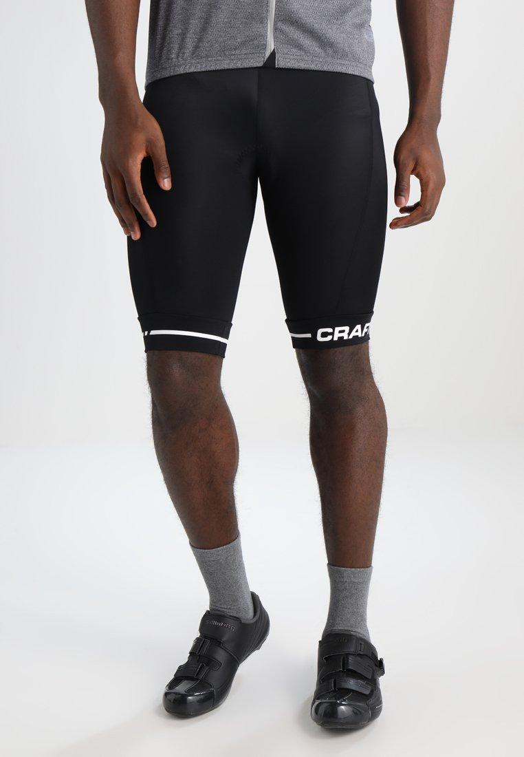 Craft - RISE SHORTS - Sports shorts - black/white