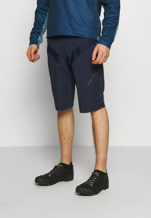 ROUTE SHORTS 2-IN-1 - Sports shorts - blaze/black