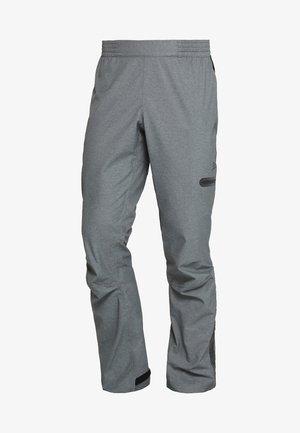 RIDE PRECIP PANTS - Broek - dark grey melange