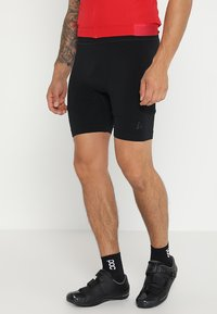Craft - FUSEKNIT BIKE BOXER - Tights - black - 0