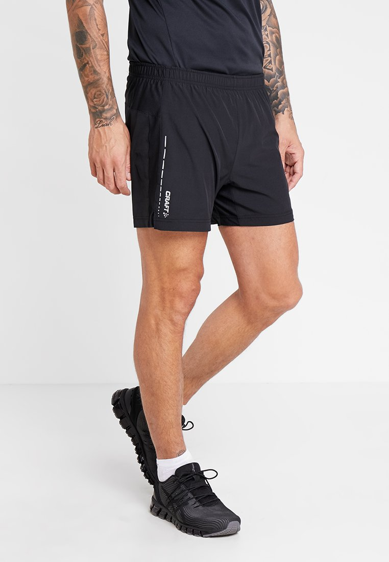 Craft - ESSENTIAL 2-IN-1 SHORTS - Pantalón corto de deporte - black