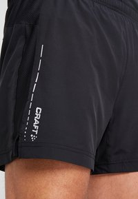 Craft - ESSENTIAL 2-IN-1 SHORTS - Träningsshorts - black - 3