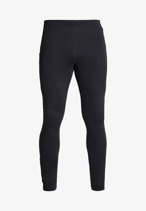 ESSENCE ZIP TIGHTS - Tights - black