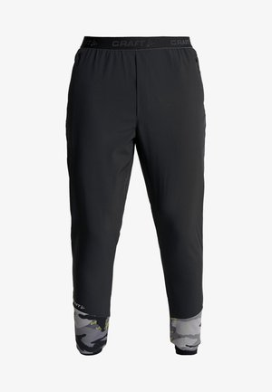 ESSENCE TRAINING PANTS - Tracksuit bottoms - black/multicolored