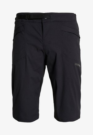 SUMMIT SHORTS WITH PAD - kurze Sporthose - black