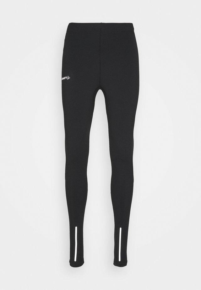 ESSENCE WARM - Leggings - black