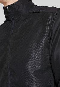 Craft - EAZE WIND - Training jacket - black - 5