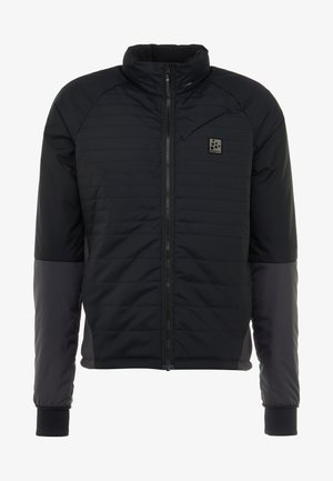 HALE PADDED - Chaqueta outdoor - black/asphalt