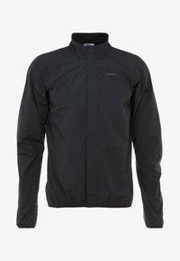 Craft - ADOPT RAIN JACKET - Regenjacke / wasserabweisende Jacke - black - 4