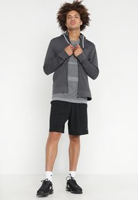 Craft - HOOD - Sweatjacke - grey melange/black - 1