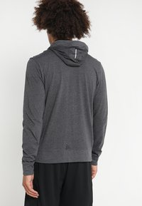 Craft - HOOD - Sweatjacke - grey melange/black - 2