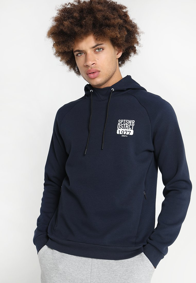 Craft - DISTRICT HOOD - Hoodie - blaze