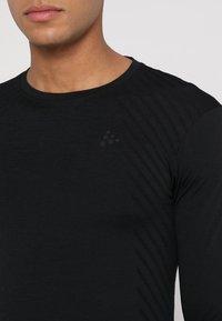 Craft - COMFORT - Camiseta de deporte - black - 4