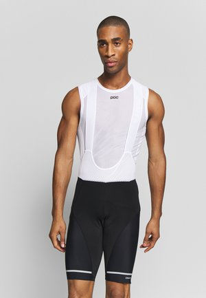 HALE BIB SHORTS  - Leggings - black/white