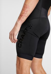Craft - ESSENCE BIB SHORTS - Tights - black
