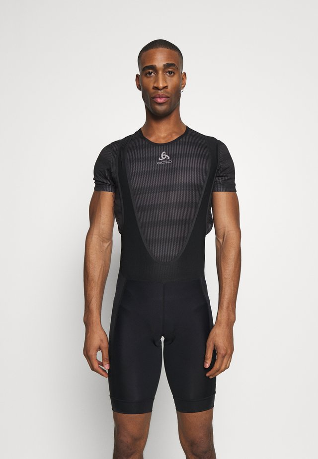 ADOPT BIB SHORTS - Tights - black