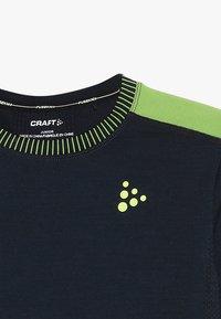 Craft - COMFORT  - Top sdlouhým rukávem - blaze/acid - 4