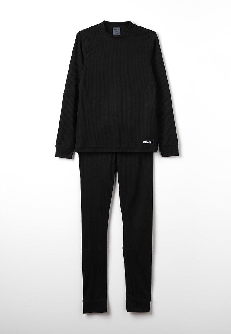 Craft - BASELAYER SET  - Hemd - black