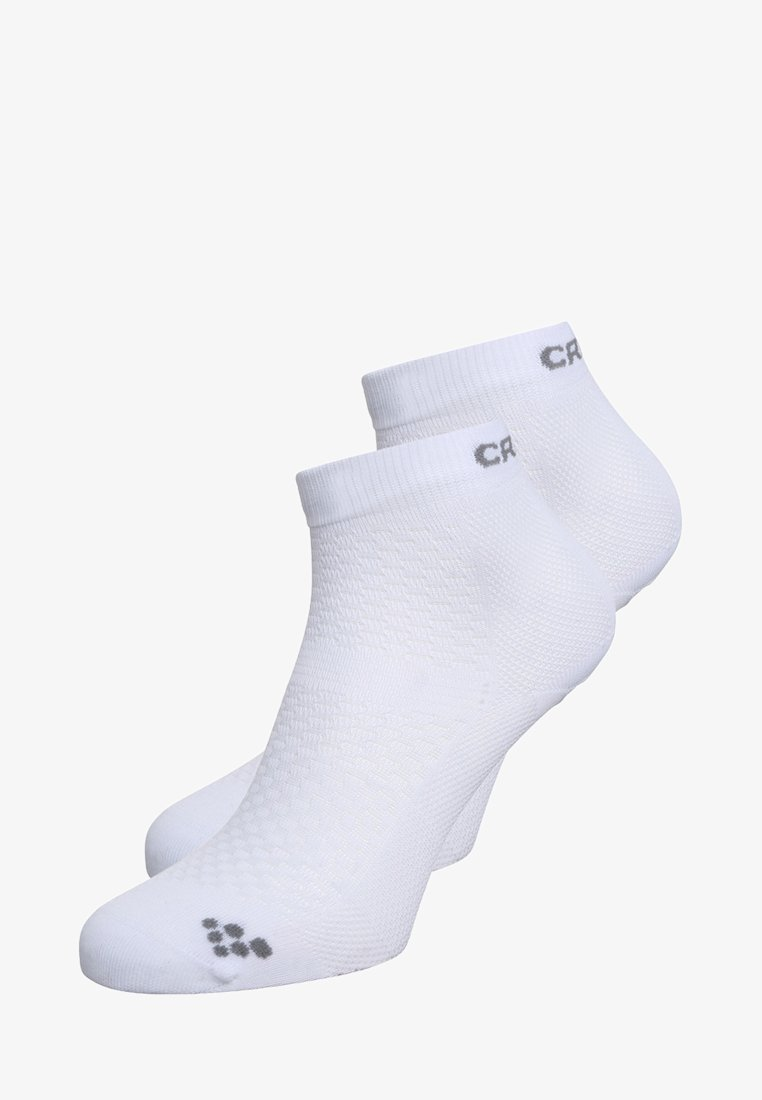 Craft - 2 PACK - Sports socks - white/silver