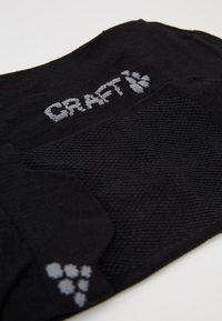 Craft - GREATNESS SHAFTLESS 3 PACK - Sportovní ponožky - black - 2