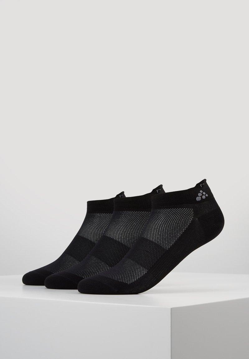 Craft - GREATNESS SHAFTLESS 3 PACK - Sportovní ponožky - black