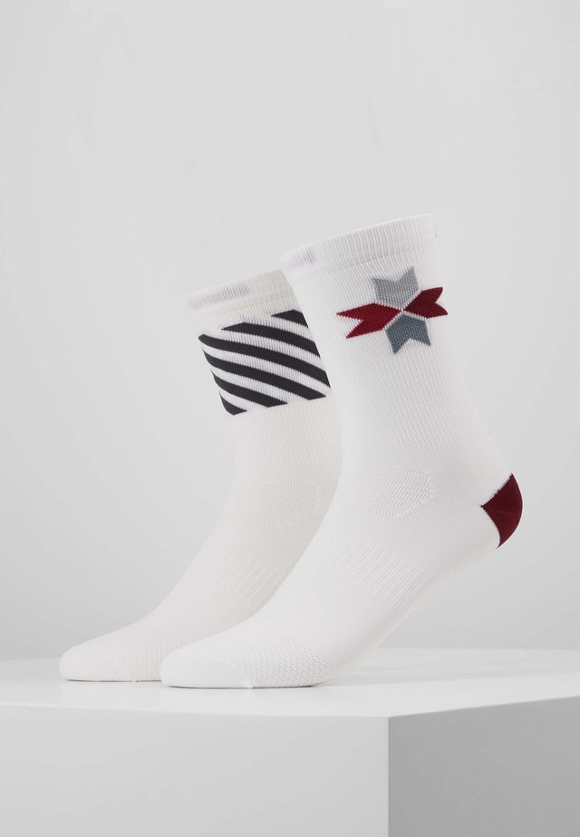 SPECIALISTE COOL BIKE SOCK - Sportsstrømper - white/hickory
