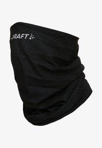 Craft - NECK TUBE - Sjaal - black/white - 2