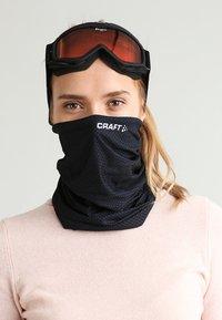 Craft - NECK TUBE - Sjaal - black/white - 1
