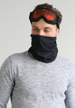 NECK TUBE - Snood - black/white