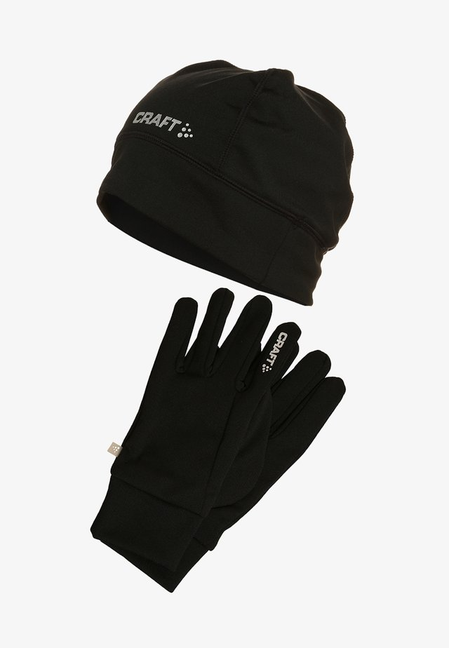 RUNNING SET - Gloves - black