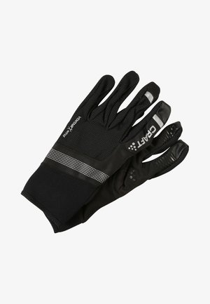 SHELTER  - Fingerhandschuh - black