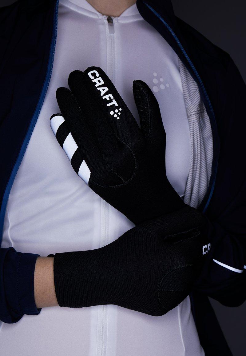 Craft - GLOVE 2.0 - Rękawiczki pięciopalcowe - black