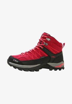 RIGEL MID TREKKING SHOE WP - Chaussures de marche - granita/corallo