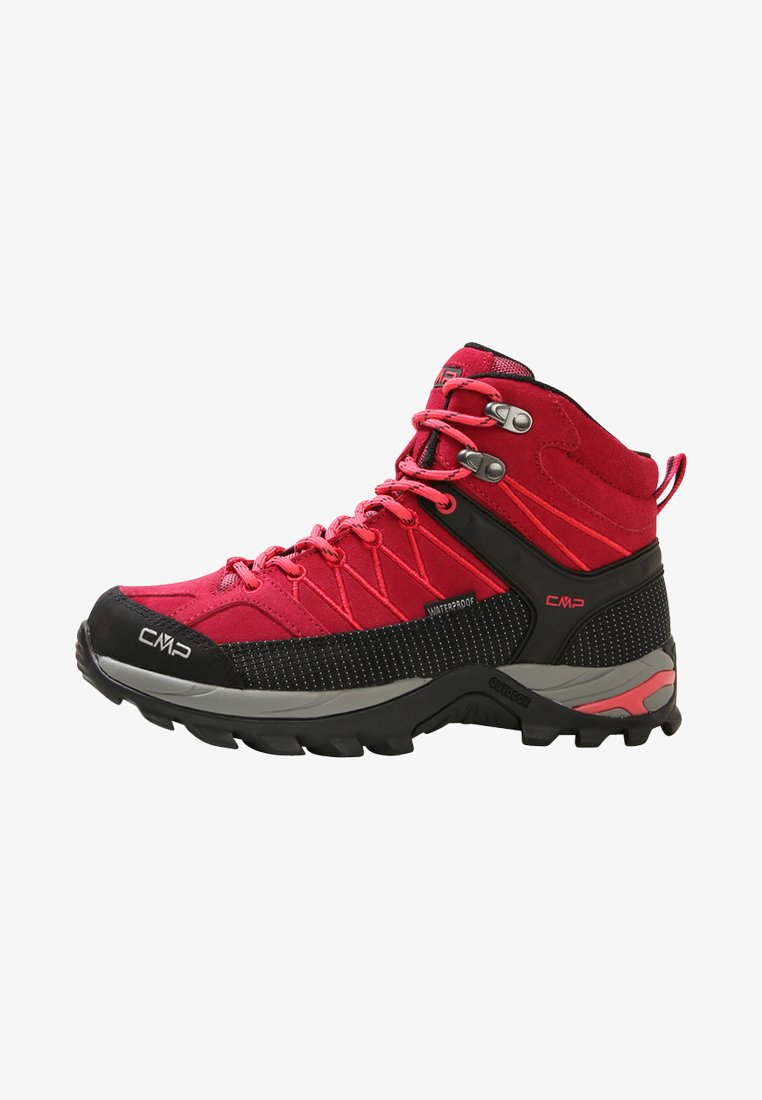 CMP - RIGEL MID SHOES WP - Outdoorschoenen - granita/corallo