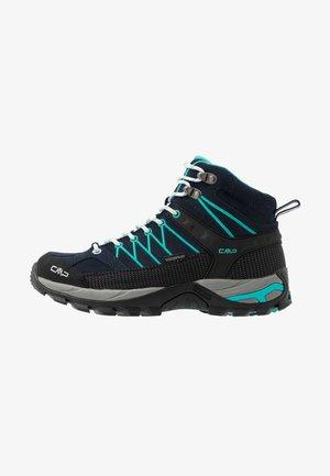RIGEL MID TREKKING SHOE WP - Chaussures de marche - blue/ceramic