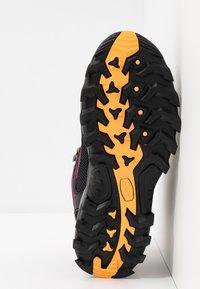 CMP - RIGEL MID TREKKING SHOE WP - Hiking shoes - antracite/bounganville - 4