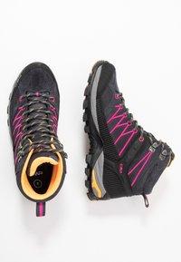 CMP - RIGEL MID TREKKING SHOE WP - Hiking shoes - antracite/bounganville - 1