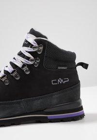 CMP - HEKA TREKKING SHOES WP - Chaussures de marche - nero - 6