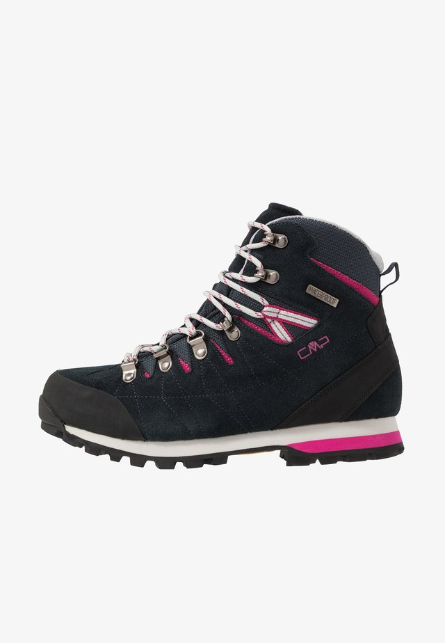 ARIETIS - Hiking shoes - antracite/bounganville