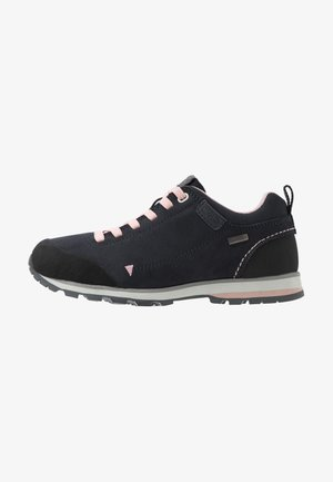 ELETTRA LOW WMN HIKING SHOE WP - Trekingové boty - antracite/pastel pink