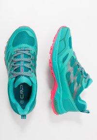 CMP - ZANIAH TRAIL SHOE - Obuwie do biegania Szlak - ceramic/gloss - 1