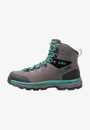 SHELIAK TREKKING SHOES WP - Zapatillas de senderismo - graffite