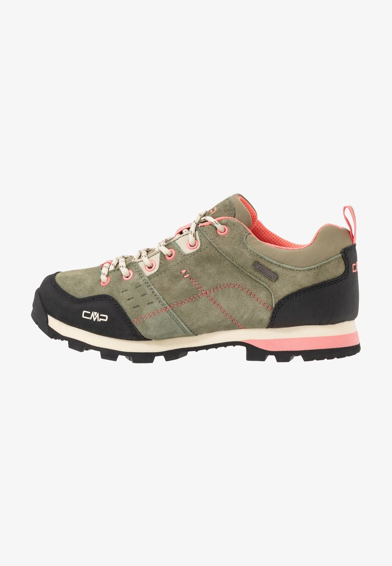 CMP - ALCOR LOW TREKKING SHOE WP - Hiking shoes - kaki