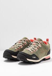 CMP - ALCOR LOW TREKKING SHOE WP - Hiking shoes - kaki - 2