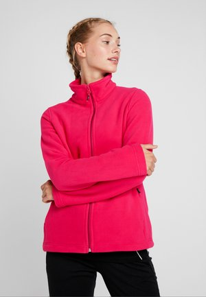 WOMAN JACKET - Giacca in pile - rhodamine