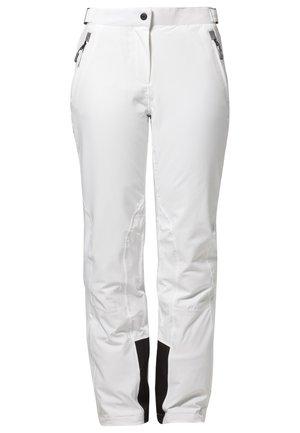 WOMAN SKI PANT - Pantalon de ski - bianco