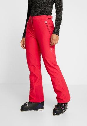 WOMAN SKI PANT - Ski- & snowboardbukser - rhodamine