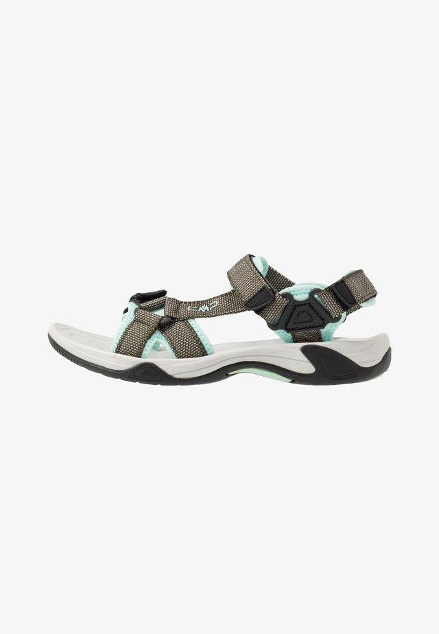 HAMAL HIKING  - Walking sandals - kaki
